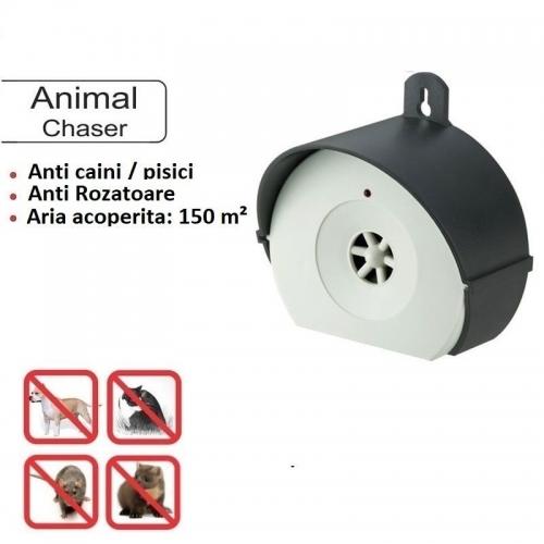 Aparat anti rozatoare caini pisici cu ultrasunete Ultrasonic Animal Chaser
