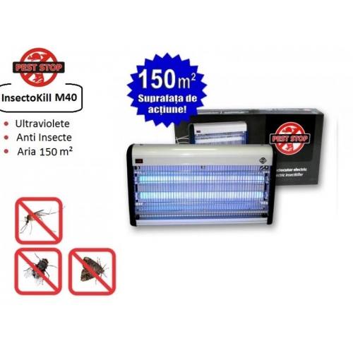 Aparat cu ultraviolete anti-insecte InsectoKILL M40