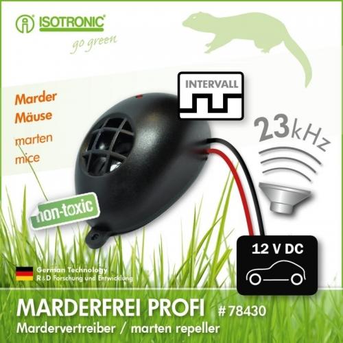 Aparat anti rozatoare auto cu ultrasunete Marder Frei 78407