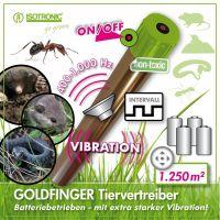 Dispozitiv anti daunatori cu vibratii GoldFinger 70048