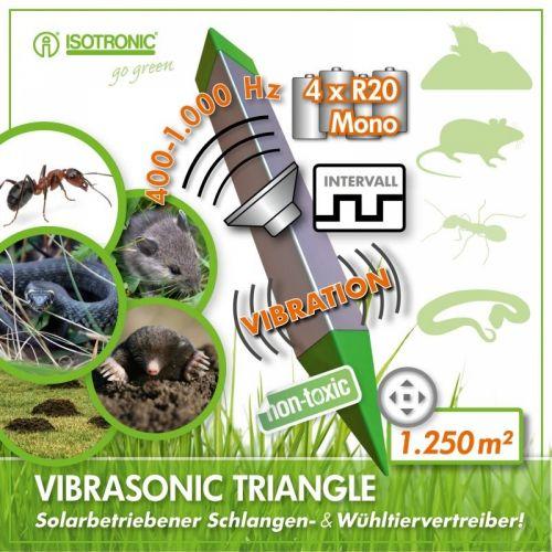 Dispozitiv anti daunatori Vibrasonic Animal Repeller 70060